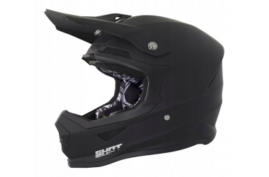 Kask cross SHOT Racing Furious czarny mat